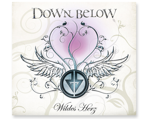 Projekt CD-Artwork für Down Below, Album Wildes Herz, Digipack Cover