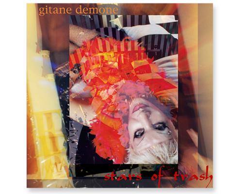 Projekt CD-Artwork für Gitane Demone, Album Stars of trash, Cover