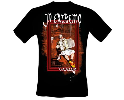 Projekt Shirt-Gestaltung für In Extremo - Motiv Gaukler - vorne